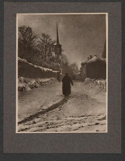 Avant le salut , 1904 - photographe Léon Bovier
