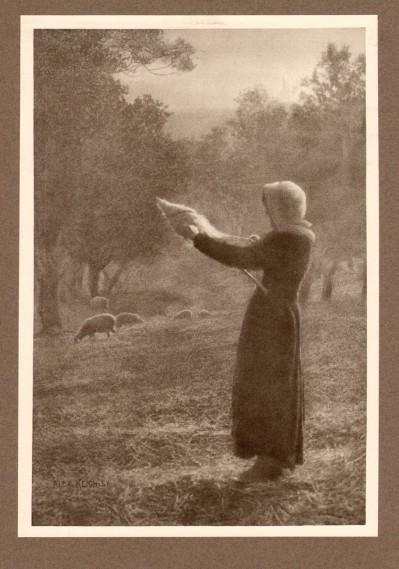 Bergère, 1905 - photographe Alex Keighley