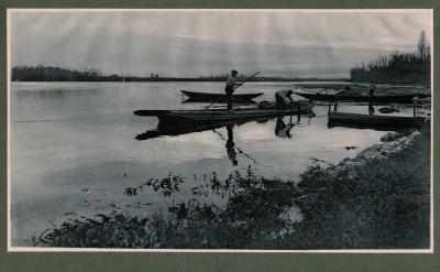 Bord de Loire, 1904 - photographe Albert Malle