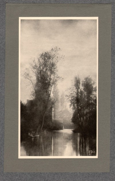 Bords du Loir, 1905 - photographe Albert Yvon