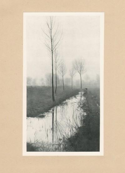 Brumes du Nord, 1905 - photographe Albert Malle