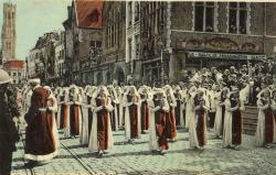 Bruges - Fête religieuse du Sin sang
