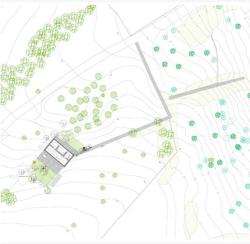 Herreros Arquitectos – maison à Arta (Majorque), 2007 – plan masse
