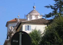 Dôme de l'église San Carlo alle Quattro Fontane à Rome