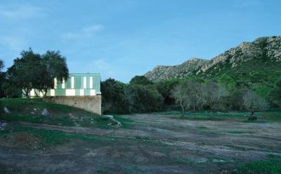 Herreros Arquitectos – maison à Arta (Majorque), 2007 – façade Sud – photo José Hevia