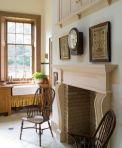 Maison géorgienne : le Fireplace