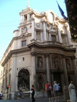 église San Carlo alle Quattro Fontane à Rome – Borromini