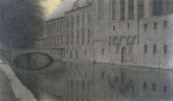 Fernand Khnopff - canal à Bruges, 1904