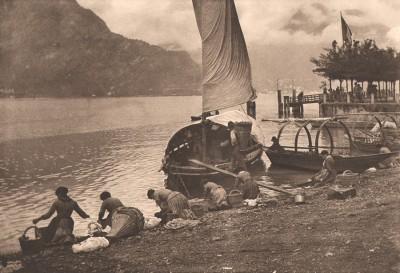 Lac de Come, 1893 -alfred-stieglitz