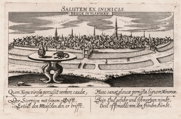 Daniel Meisner - BRUGK IN FLANDERN (Brugge), 1627