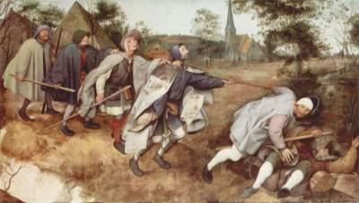 Peter Brueghel l'ancien - Parabole des aveugles, 1568