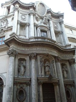 église San Crlo alle Quattro Fontane à Rome – Borromini
