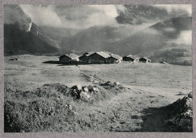 Dans la montagne, 1905 - photographe Frederick Boissonnas