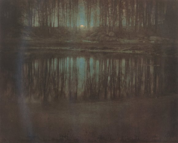 The Pond Moonlight, 1904 - photographe Edward Steichen