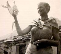 Charlotte Perriand en montagne en 1928