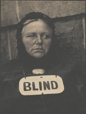 Paul Strand - Blind, 1916