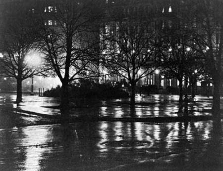Alfred Stieglitz - Reflections - vers 1896