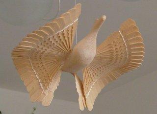 """Le traditionnel """"oiseau du bonheur"""" du nord de la Russie"""