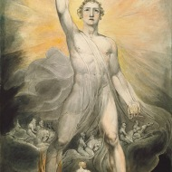 William Blake - Angel of the Revelation, ca. 1803–05