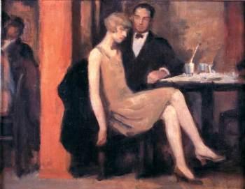 Hugo Boettinger - V Kavarne, 1926