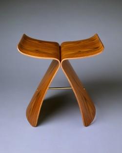 Butterfly Stool - Sori yanagi (japanese, born tokyo 1915) - 1956