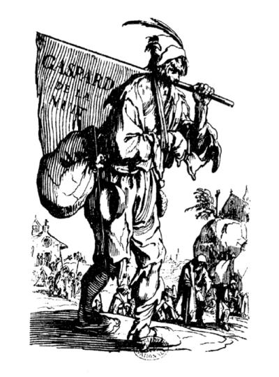 Aloysius Bertrand, Gaspard de la nuit. Fantaisies à la manière de Rembrandt et de Callot