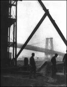 Alvin Langdon Coburn - Williamsburg bridge, 1909