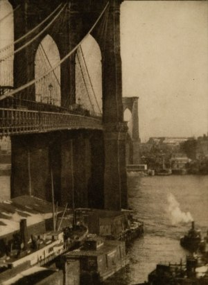 Alvin Langdon Coburn - Brooklyn Bridge, 1900
