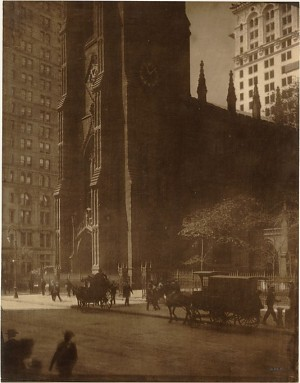 Edward J. Steichen - Trinity Church, 1904