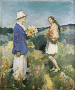 Hugo Boettinger - le bouquet de fleurs, vers 1910