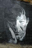 Giorgio Agamben - portrait mural