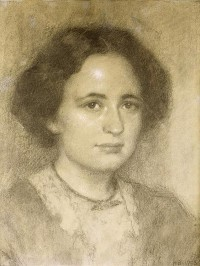 Hugo Boettinger - portrait de Madame Helfert, 1908