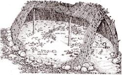 hutte de Terra Amata