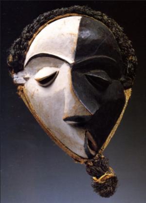 Les masques mbangu des Pende