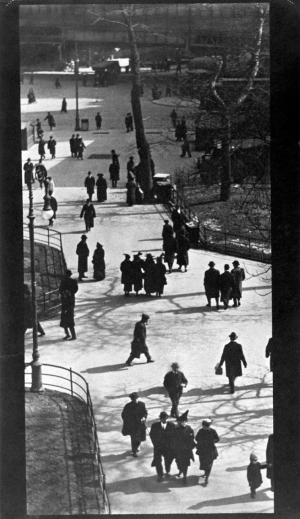 Paul Strand - 'City Hall Park, New York, 1915
