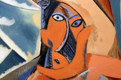 Picasso - les Demoiselles d'Avignon - Extrait