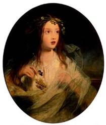 James Sant - Ophelia