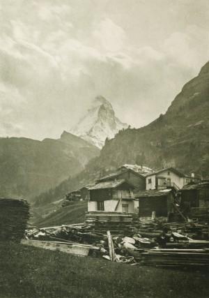 Dr L. Brandt (Allemagne) - le Matterhorn, 1904