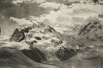 Emmanuel Mathieu (FR) - Un orage au Mont-Rose, 1895