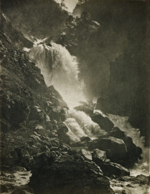 Andrew Pringle (G-B) - Lotefos Waterfall, 1897