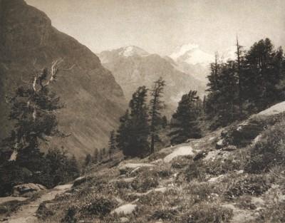 Oberst K. Suznevic (Autriche) - Im Gebirge - Journal Wienr Photographische Blätter, 1895