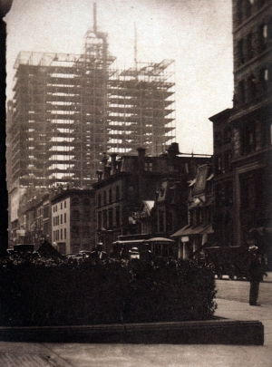 Alfred Stieglitz - New-York Old New, 1910