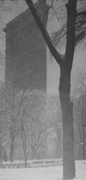 Alfred Stieglitz - Flat iron, 1903