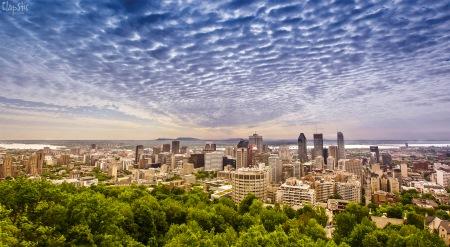 Montréal - vue du Mont Royal
