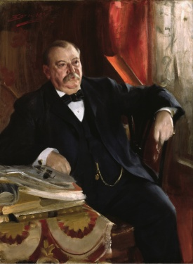 Anders Leonard Zorn - Grover Cleveland, 1899 (Google Art Project)