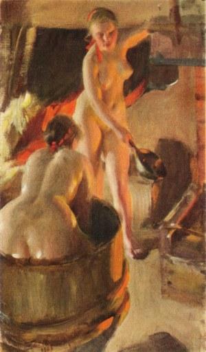 Anders Zorn - Filles de Délécarlie au bain,1906