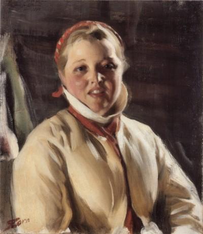 Anders Zorn - Kuver Maja, 1902