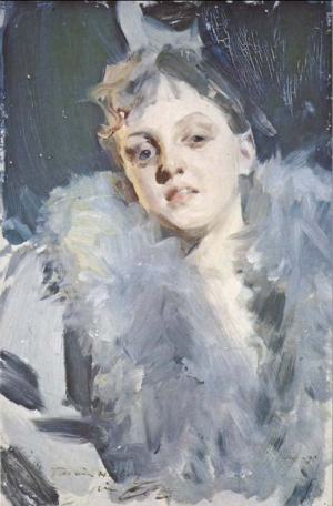 Anders Zorn - Natteffekt II, 1895