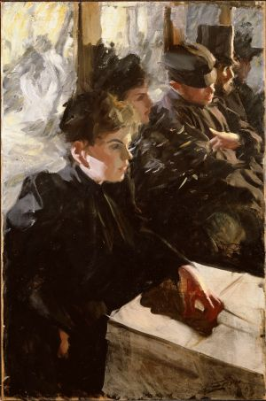 Anders Zorn - Omnibus, 1892 ou 1895