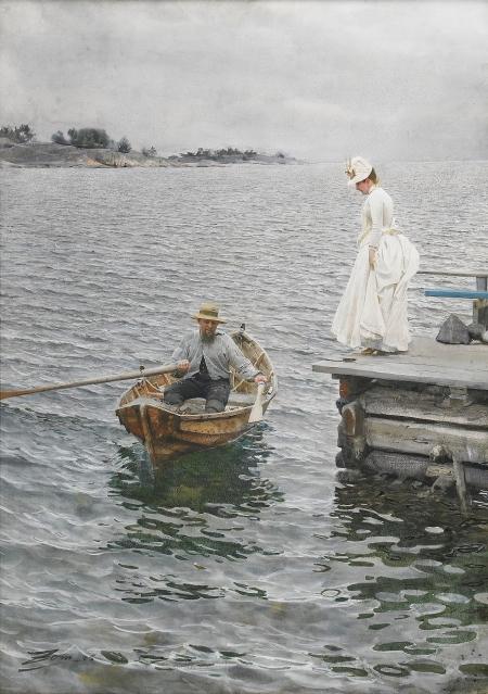 Anders Zorn - Plaisir d'été, 1886
